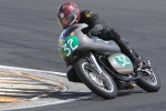 Chris Swallow, Eldee Velocette, racing, Eldee Special, Race 37, Hampton Downs, NZCMRR Classic Bike racing event, HighSide Photography, Phil Purdue, MagentaDot Brands