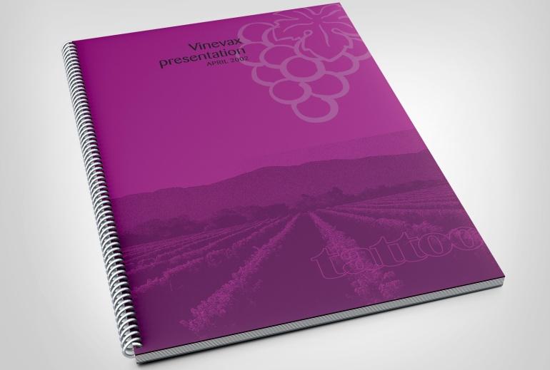 Agrimm, Vinevax logo, presentation document, MagentaDot Brands