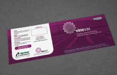 Vinevax PWD brochure redesign outside cover spread