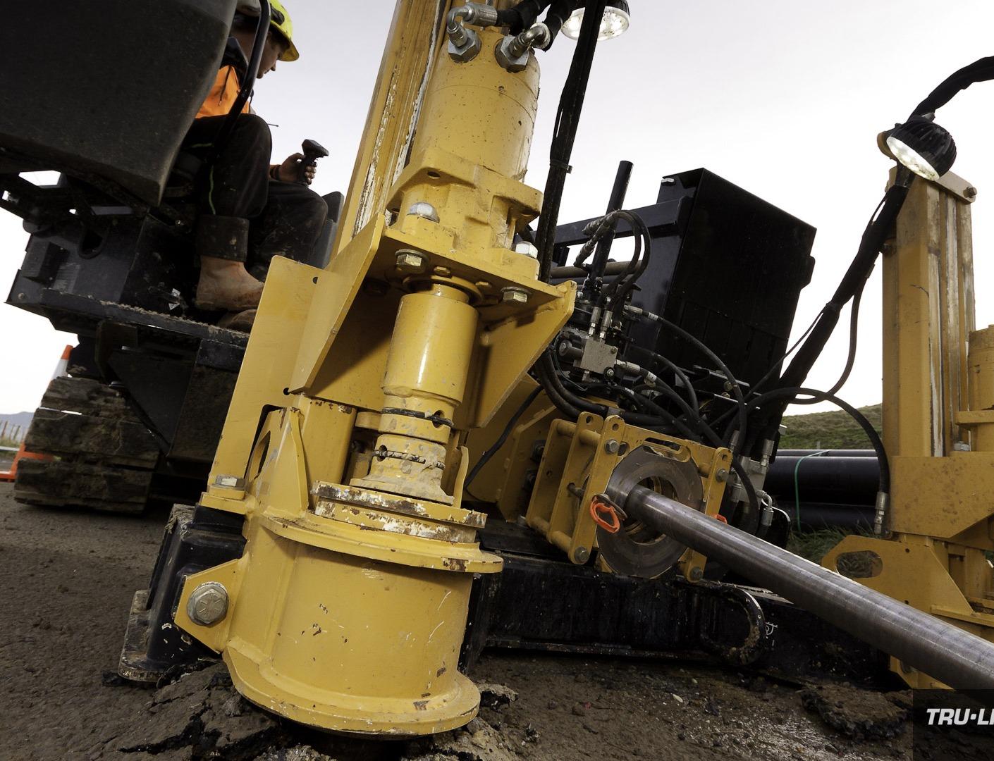 Horizontal Directional Drilling, Tru-Line Civil, Akaroa, documentary, photography, Akaroa Water Supply Stage 3, Reticulation Upgrade, Vermeer HDD,
