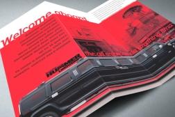 Superior Hummer Limousines, Z-fold, DLE brochure