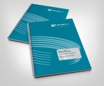 Tru-Line Civil, bid document, booklet, wire-o, stationery system, corporate stationery, document folder, Word document template