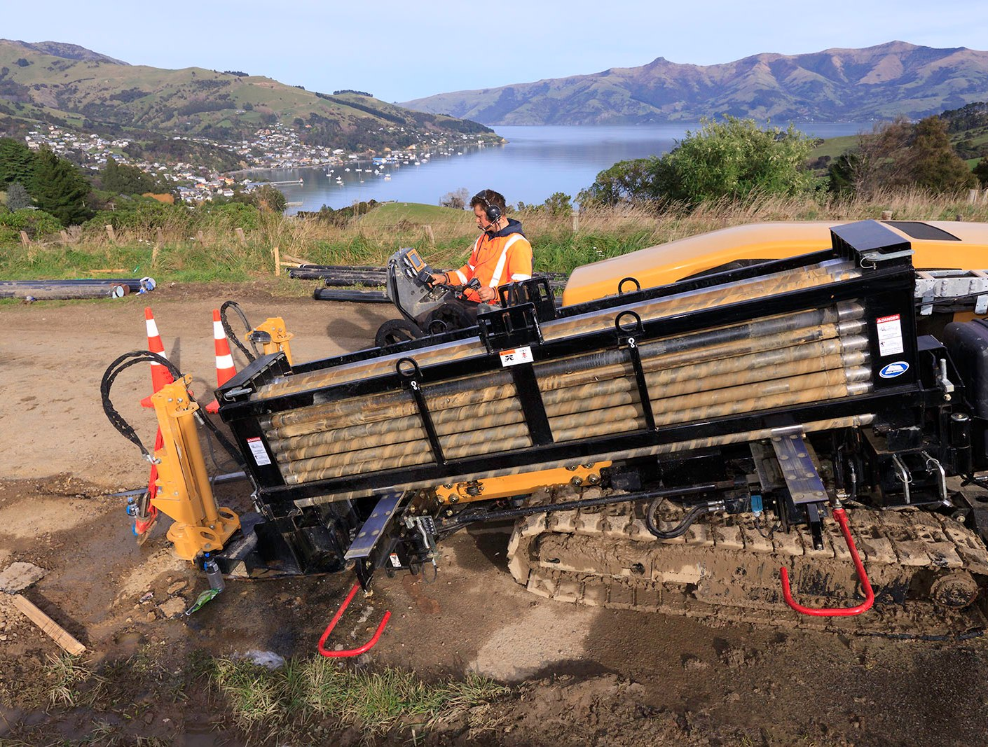 TruLine Civil horizontal drilling rig, Akaroa