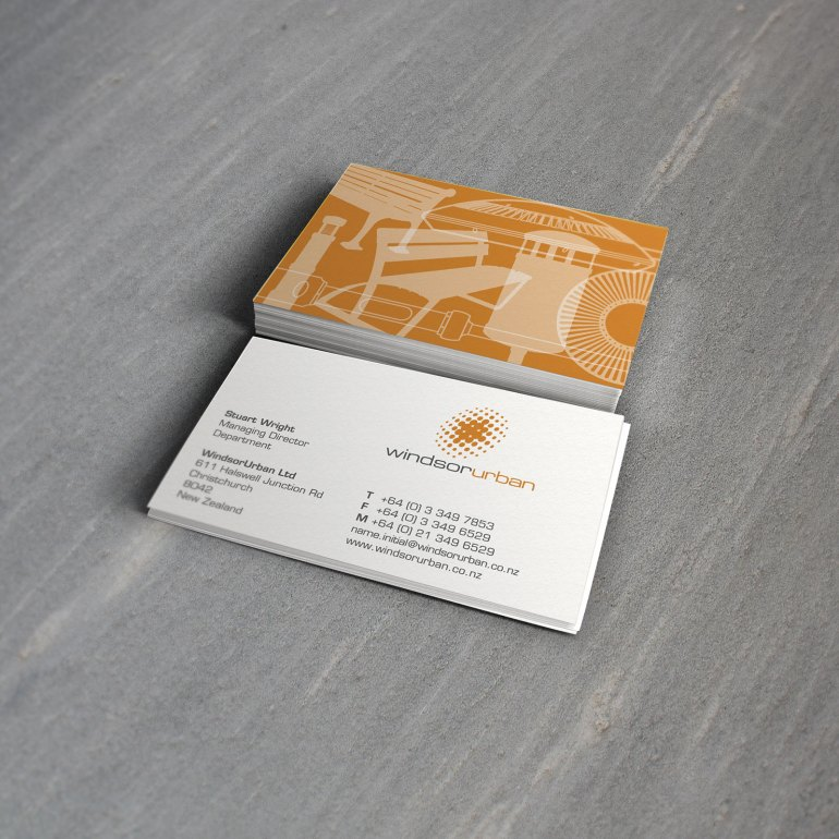 Print design project types magentadot brands windsor urban business cards magentadot brands renamed and rebranded the company for growth 2 reheart Choice Image