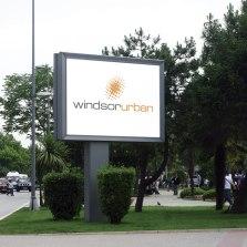 brand, logo, signage, building signage, sign, illuminated sign, dimensional sign