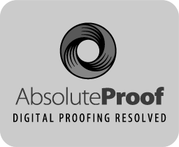 AbsoluteProof logo black and white icon