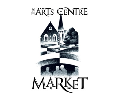 The Arts Centre Market logo. Brands for New Zealand companies, Christchurch, New Zealand.