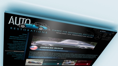 The new 'Muscle Cars' gallery section header page.