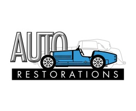 Auto Restorations logo. Brands for New Zealand companies, Christchurch, New Zealand.