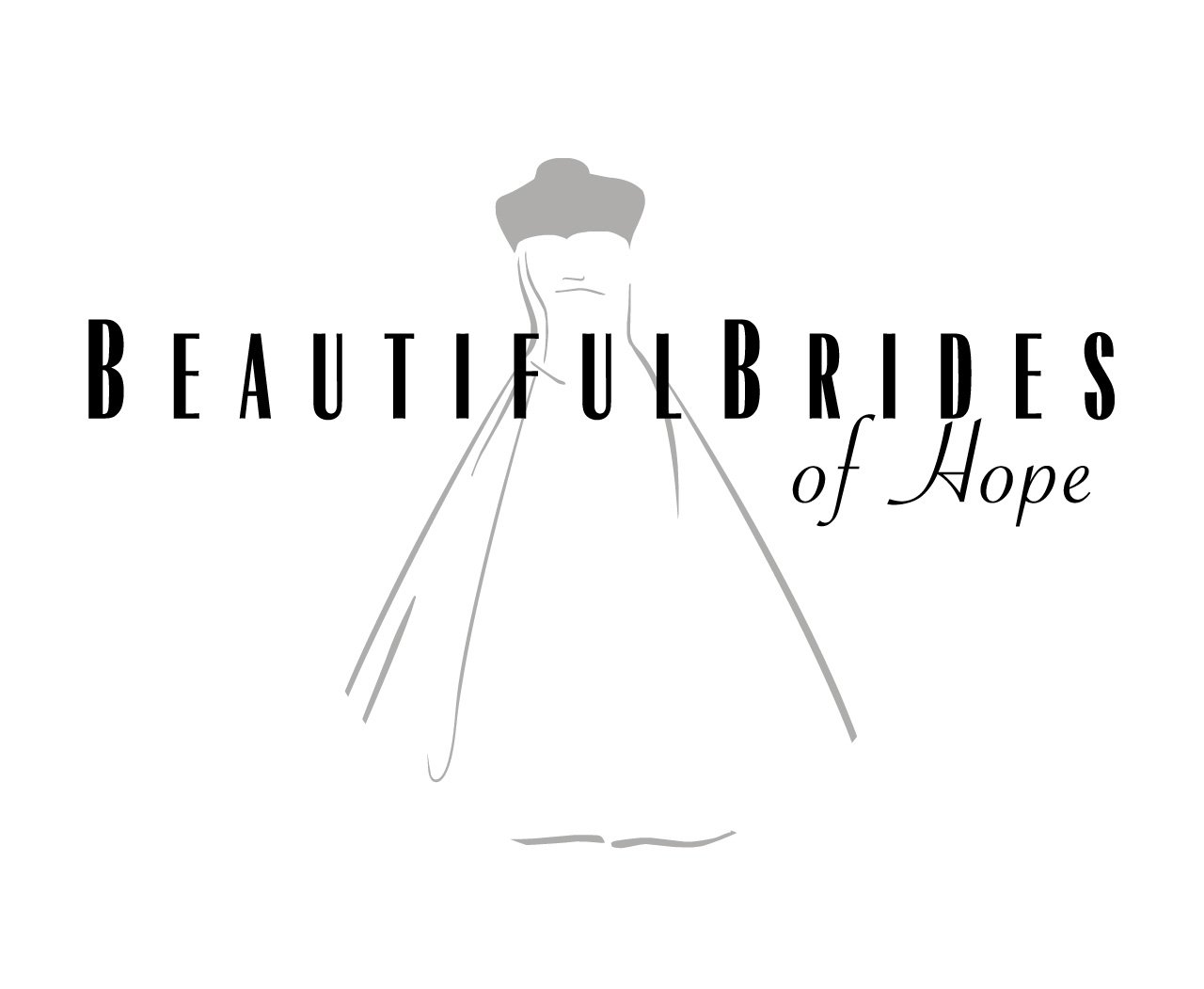 The Beautiful Brides of Hope bridal couture logo