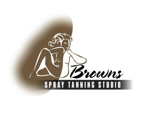 Browns Spray Tanning Studio logo.
