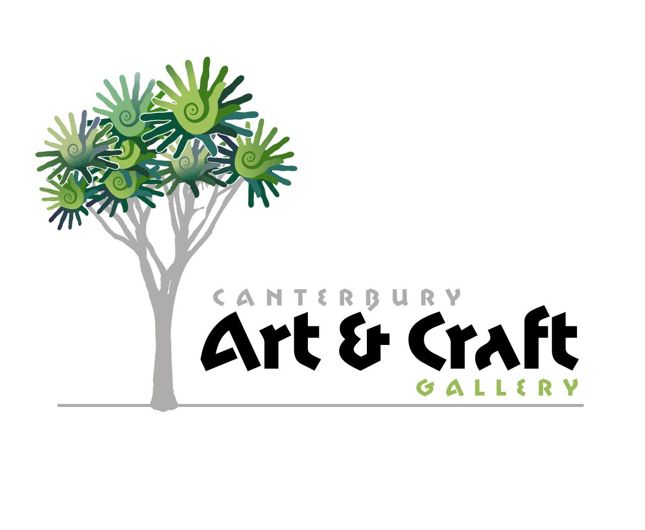 Canterbury Art Craft Gallery Logo Magentadot Brands