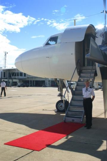 Pionair Australia Convair CV580 VH-PDV