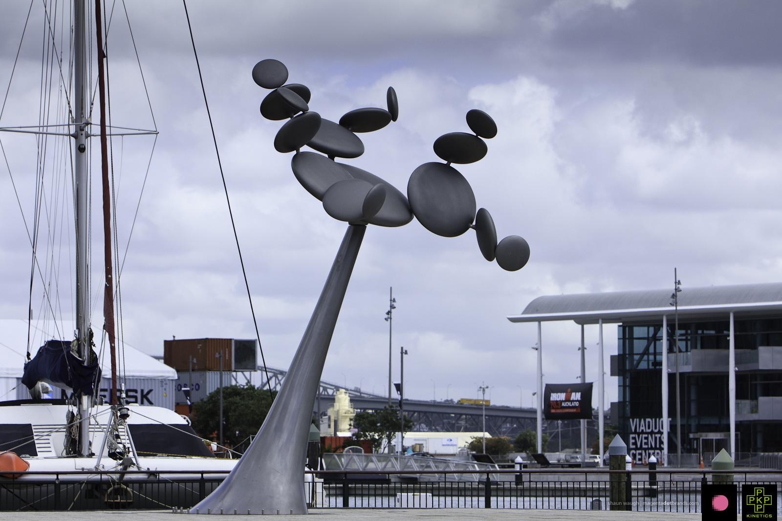 Cytoplasm. Kinetic sculpture by Phil Price.