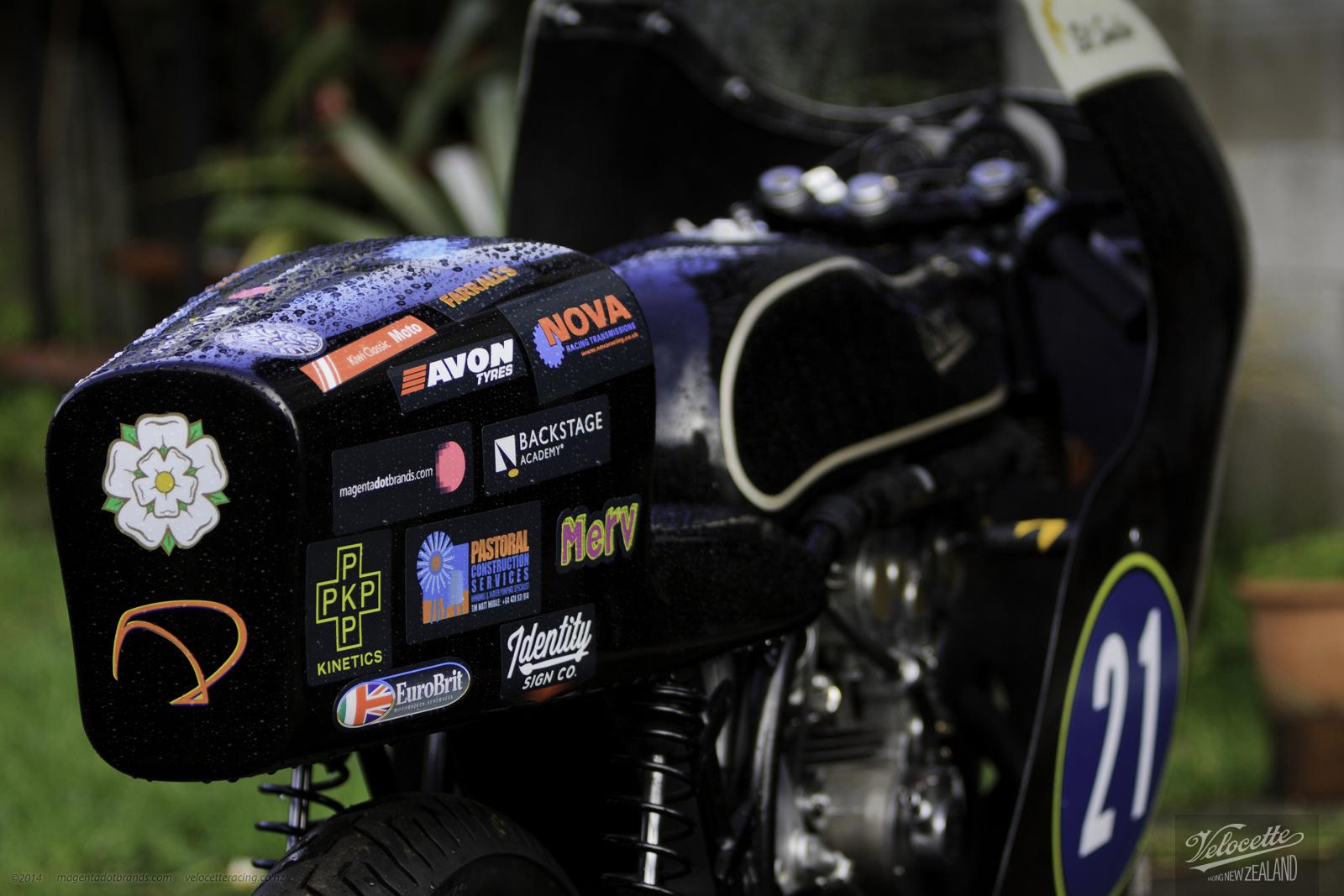 Eldee-2 race ready livery detail