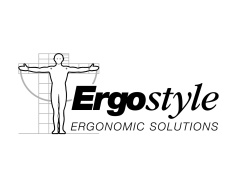 ErgoStyle: Ergonomic Solutions logo. A start-up company logo. ErgoStyel designs and manufactures commercial ergonomic office furniture, fits-out offices with ergonomic furniture, develops occupational health solutions, and provides ergonomic design consultancy. Brands for New Zealand businesses, Christchurch.