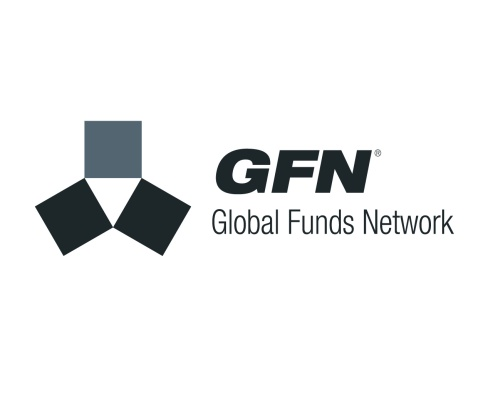 "GFN: Global Funds Network logo. The first instance of a ""Fifth Web: Federated Commerce"" trading federation, set up in Australia to enable Federated trading between stakeholders in the 'unit trusts' segment of the share trading market. Brands for New Zealand / International businesses, Australia."