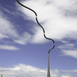 Jolly Hockey Sticks. Kinetic sculpture by Phil Price.