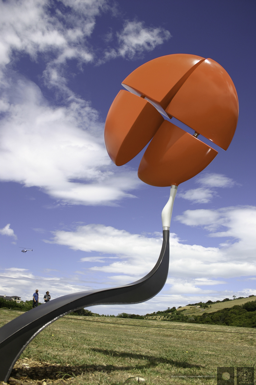United Divided. Kinetic sculpture by Phil Price.