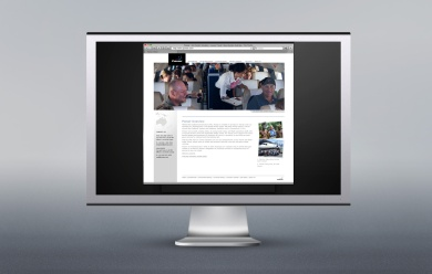 Pionair website redesign 2008