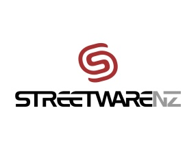 StreetwareNZ logo. StreetwareNZ was a venture startup company aiming to design, import and retail a range of custom 'Streetware', and Drainage Castings: Access, manhole covers, stormwater and kerb grates, surface boxes and covers. A company started up to provide these foundry products to New Zealand Council regions. Brands for New Zealand businesses, Greymouth.