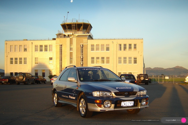 Subaru-new-wrap,-Wigram_Airforce_Tower_exterior_paint_project-07