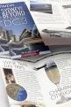 Pionair Australia, Classic DC3 aviation, Sydney & Beyond, 4-panel, gate-fold, DLE tourism brochure