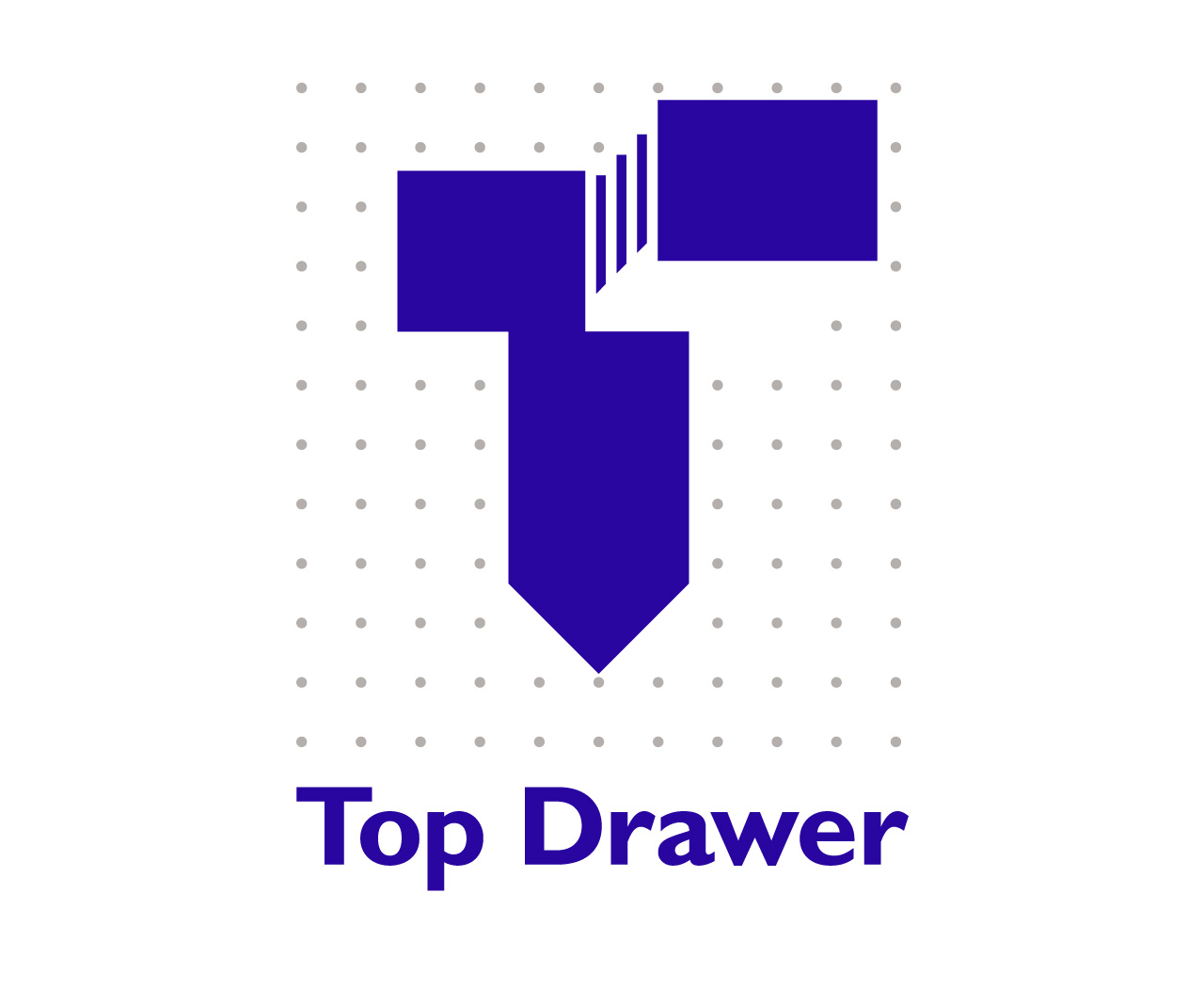 Top Drawer logo. Office furniture repairs, maintenance and retailer.