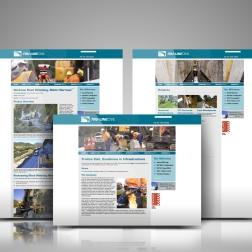 Tru-Line Civil website showcase.