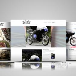 VRNZ website showcase of three pages