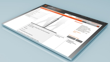 WindsorUrban website example catalogue item page featuring street lighting pole