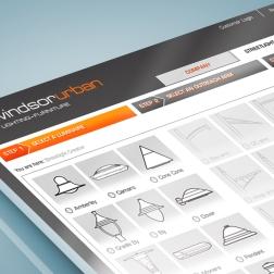 WindsorUrban 'Streetlight Creator' web application interface mockup.