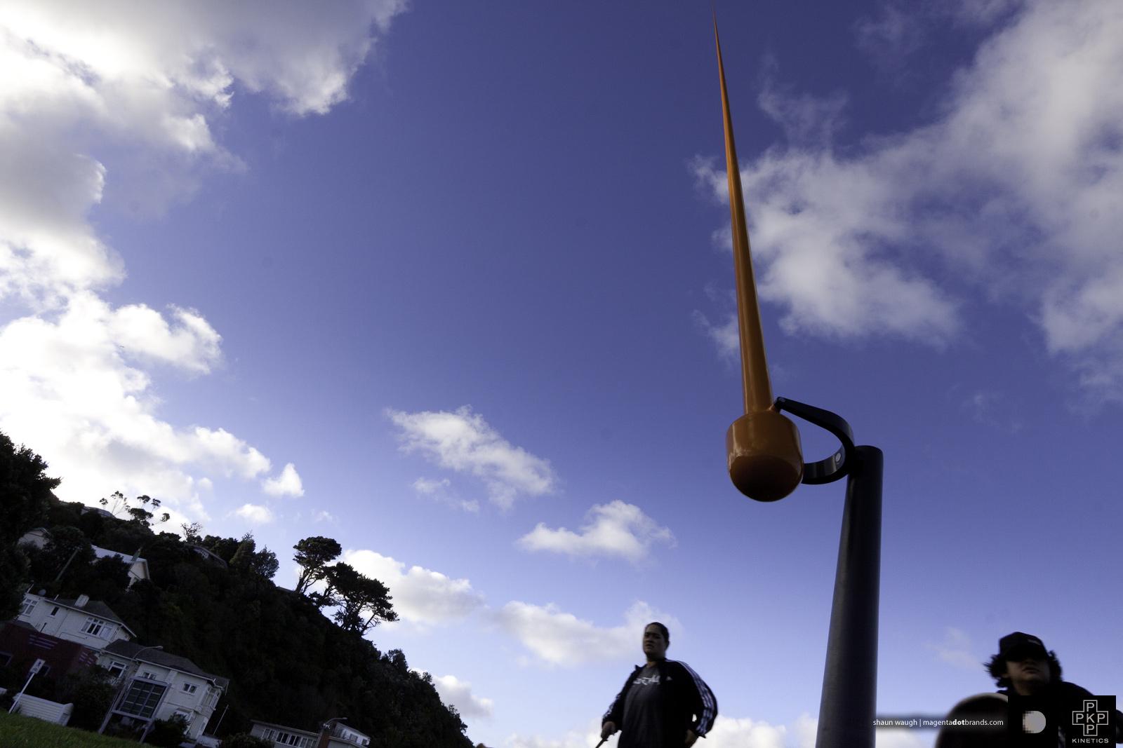 Zephyrometer. Kinetic sculpture by Phil Price.