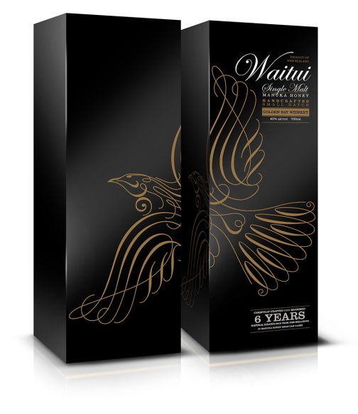 Waitui Whiskey packaging gift carton draft
