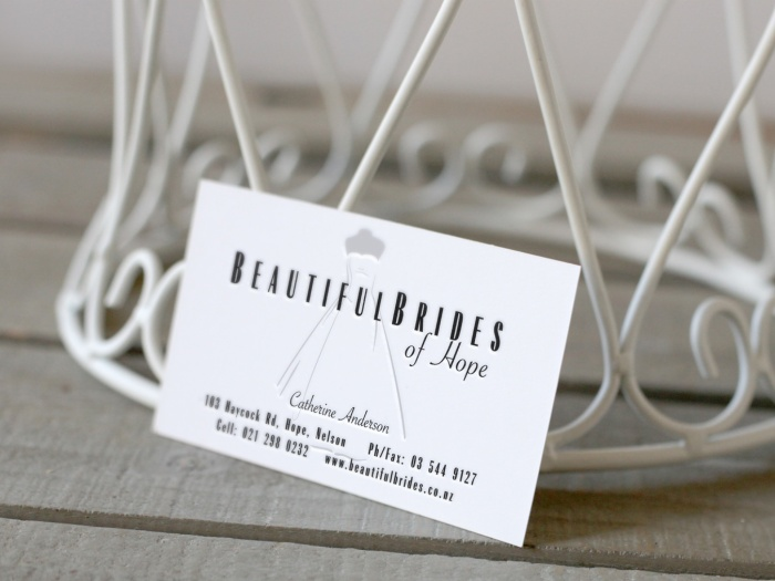 Name and logo for a niche Bridal Couture firm who lives in Hope