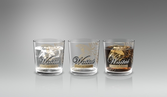 Promotional merchandise. Waitui Whiskey glasses are swag for use as a giveaway at the promotional launch or in ongoing marketing and communications programmes. They promote Waitui Golden Bay Whiskey and will be used in future marketing campaigns.
