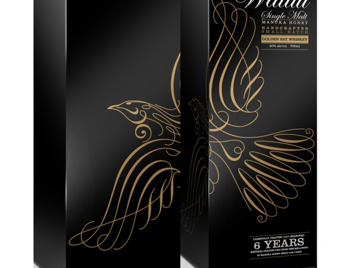 Waitui Individual Gift Carton showing the duplex concept of the design