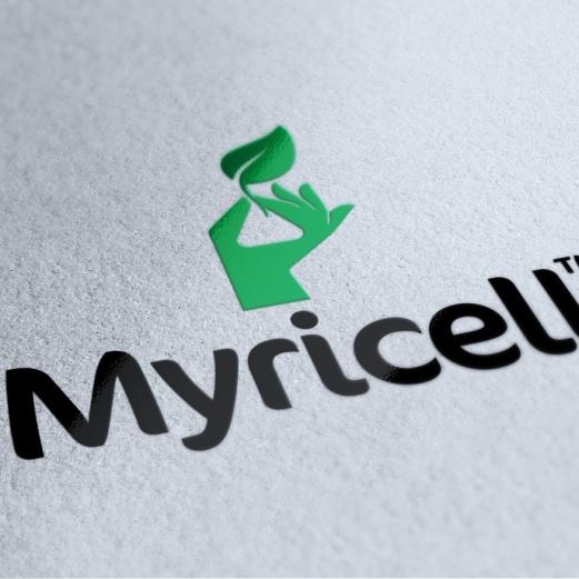 Myricell-Logo-UV-Spot-Overgloss
