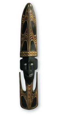 Sepik River ceremonial Carved Mask
