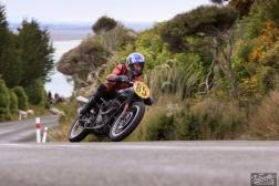 Bluff Hill, Bluff HIll Climb, BSA Goldstar 500, Burt Munro Challenge, Classic Pre '63, Flagstaff Road, Graham Peters, Motupohue, New Zealand, NZ Hill Climb Champs, Rider 85