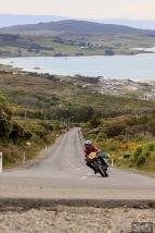 Bluff HIll Climb, BSA Goldstar 500, Burt Munro Challenge, Classic Pre '63, Flagstaff Road, Graham Peters, Motupohue, New Zealand, NZ Hill Climb Champs, Rider 85