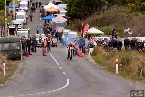 Bluff Hill, Bluff HIll Climb, Burt Munro Challenge, Classic Pre '82, Gordon Beeby, Honda CR 480, Motupohue, New Zealand, NZ Hill Climb Champs, Rider 480
