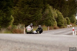 Bluff Hill, Bluff HIll Climb, Classic Sidecars, John Blaymires, Moto Guzzi Le Mans Sidecar 950, Motupohue, New Zealand, NZ Hill Climb Champs, Rider 242