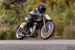 Bluff HIll Climb, Burt Munro Challenge, Flagstaff Road, Motupohue, New Zealand, NZ Hill Climb Champs, Rhys Wilson, Rider 36, Rudge Ulster 500
