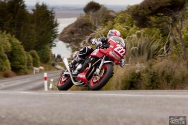 Bluff Hill, Bluff HIll Climb, Kevin Kinghan, Motupohue, New Zealand, NZ Hill Climb Champs, Rider 222, Suzuki GS1000S 1085