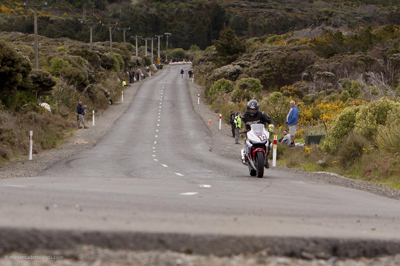 Alan Kempster, Bluff HIll Climb, Honda CBR 500, Motupohue, New Zealand, NZ Hill Climb Champs, Rider 1/2, Up to 600cc
