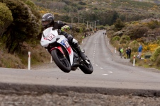 Alan Kempster, Bluff HIll Climb, Honda CBR 500, Motupohue, New Zealand, NZ Hill Climb Champs, Rider 1/2, Up to 600cc