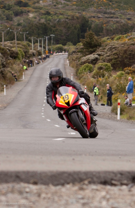 Bluff HIll Climb, Graeme Morgan, Honda CBR 600 RR, Motupohue, New Zealand, NZ Hill Climb Champs, Rider 19, Up to 600cc