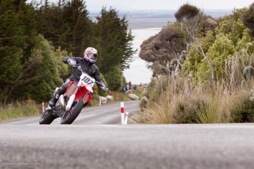 Bluff HIll Climb, Motupohue, New Zealand, Bluff Promotions NZ Hill Climb Champs, Honda CR 500, Mark Leonard, Rider 107, Up to 600cc, Burt Munro Challenge 2015,10 year Anniversary event, Thursday 26 November 2016,