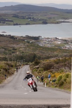 Bluff HIll Climb, Motupohue, New Zealand, Bluff Promotions NZ Hill Climb Champs, Honda CR 500, Mark Leonard, Rider 107, Up to 600cc, Burt Munro Challenge 2015,10 year Anniversary event, Thursday 26 November 2016,